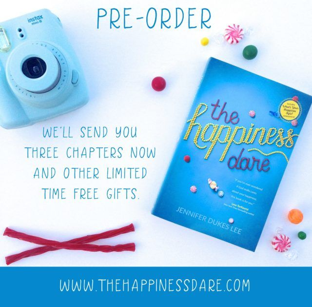 The Happiness Dare (Pre-Orders and Gifts For You!)