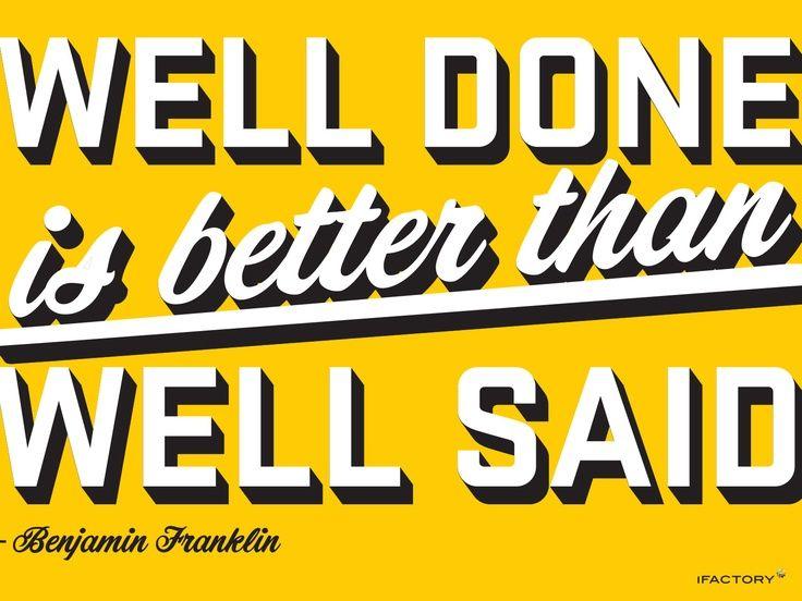 By Benjamin Franklin.