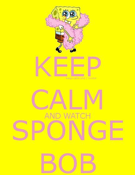 Spongebob Squarepants (Keep Calm Wisdom)