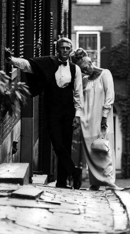 Faye Dunaway y Steve McQueen en 'El caso de Thomas Crown', dirigida y producida por Norman Jewison (1968)