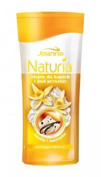Olejki do kąpieli i pod prysznic Naturia body jednocześnie myją i pielęgnują ciało. Smakowity zapach wanilii ze śmietanką sprawia, że codzienna pielęgnacja z olejkiem do kąpieli staje się wyczekaną, ulubioną chwilą dnia!