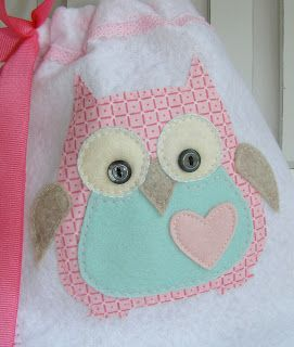 Sizzix owl cut out of fabric