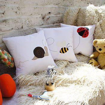 creature cushion cover by cushions covered | notonthehighstreet.com