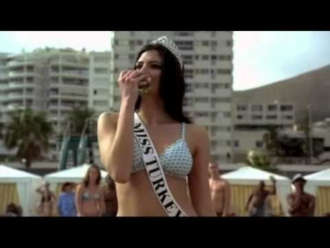 Beautiful Gizem Memic aka Miss Turkey shows off her sexy bikini body in a Carls Jr Commercial.  This commercial is for editorial commentary http://www.theburgernerd.com/sex-sell-hamburgers/  And check out my homepage at http://www.theburgernerd.com