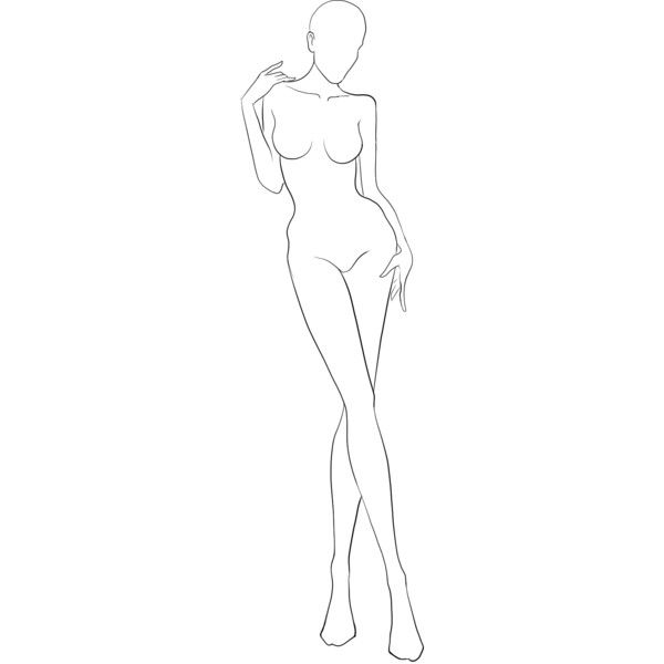 25 unique body template ideas on pinterest fashion illustration images for body template for designing clothes liked on polyvore featuring sketch doll pronofoot35fo Choice Image