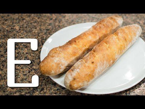 Французский багет — рецепт Едим ТВ