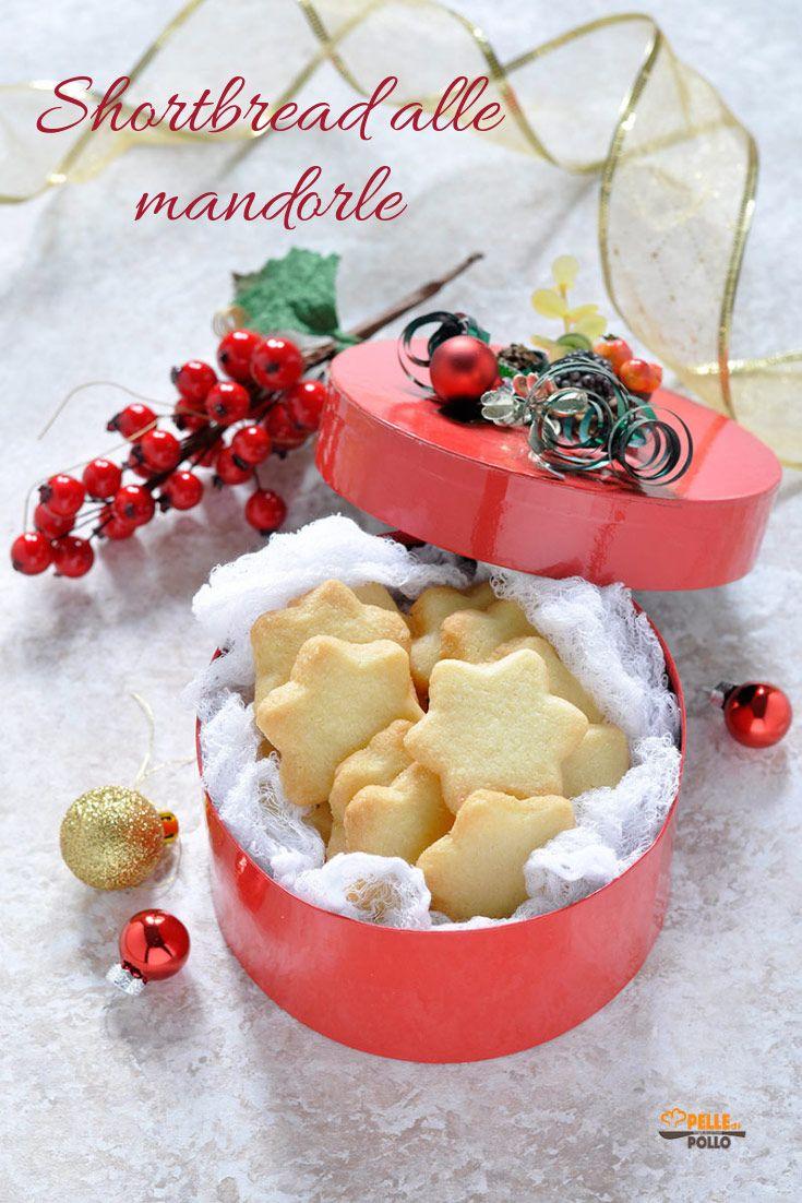 Shortbread Alle Mandorle Biscotti Di Natale Semplici Ricetta