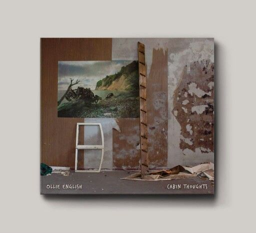 CD Cover Design for Ollie English's EP 'Cabin Thoughts'