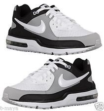 NIKE AIR MAX WRIGHT MEN's LEATHER M RUNNING WHITE - WOLF GREY - BLACK NEW IN BOX