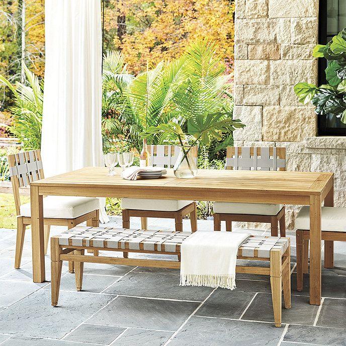 Tavoli Da Giardino Antichi.Del Mar 6 Piece Dining Set Arredamento Esterno Arredamento Casa