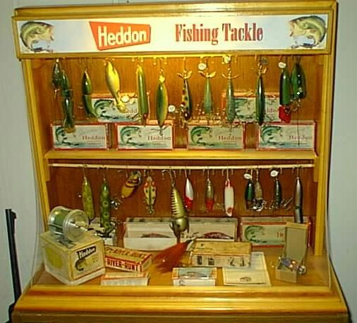 Fishing Lure Display Ideas