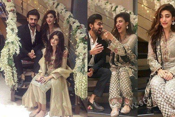 Wedding Started: Urwa Hocane and Farhan Saeed at their first Dholak! #UrwaHocane #FarhanSaeed #Dholak #Wedding #fashion #style #clothing