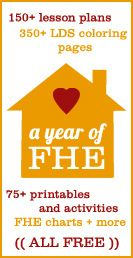 a year of FHE lessons: Lds Colors, Family Homes, Church Stuff, Family Home Evening, Fhe Ideas, 3 Years, Lessons Plans, Fhe Lessons, Families Home Evening
