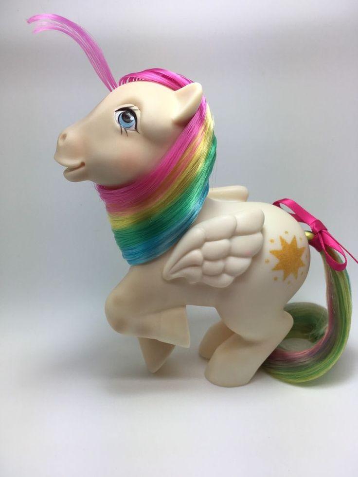 Vintage MLP G-1 Hasbro My Little Pony ~ STARSHINE ~ Year 2 Rainbow ~ PRETTY!