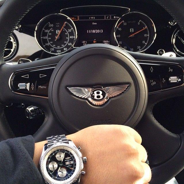 #Breitling #Bentley #GT