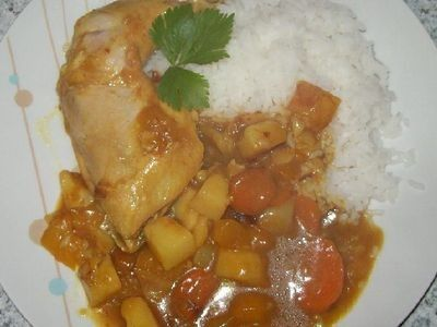 Mild Mango Chicken Curry