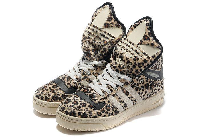 adidas jeremy scott | adidas jeremy scott leopard metro attitude hi adidas  jeremy scott ... | Foot Fetish | Pinterest | Jeremy scott, Leopard shoes  and ...