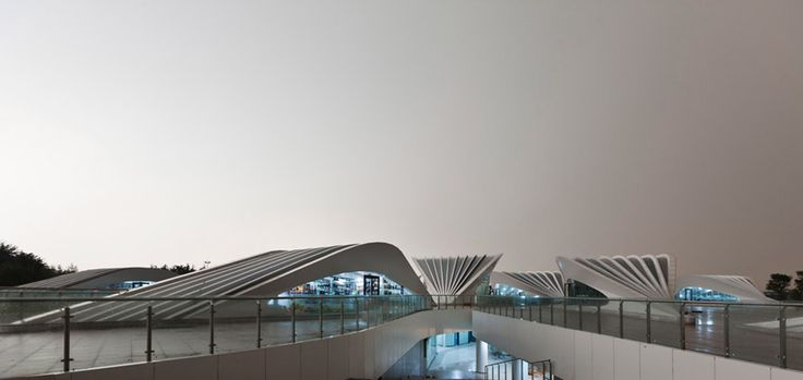 HHD_FUN: rizhao visitor center, china