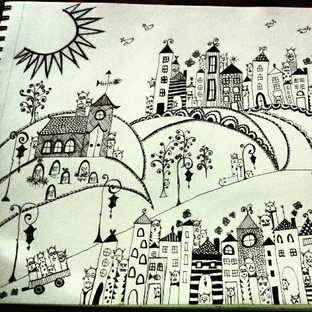 Crazy Bunch custom made doodle