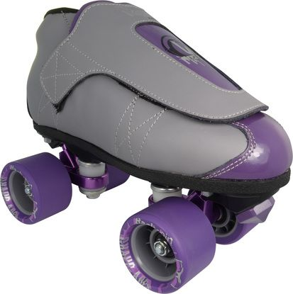 Vanilla Junior Grape-Ades Speed Roller Skates-These are cool looking skates with plenty of style and soul to go around -Choose these skates for rink skating, as well as speed and jam skating and roller derby -These skates are perfect for kids and adults