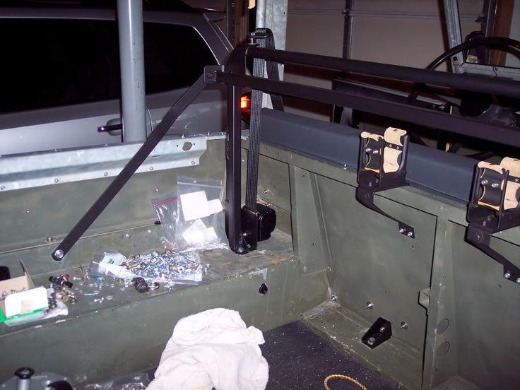 Land Rover Defender Rear Bench Seat Belts