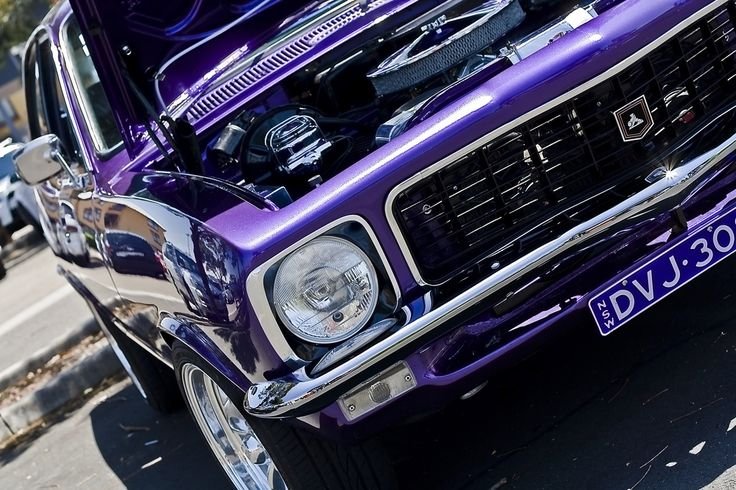 Purple Holden Torana