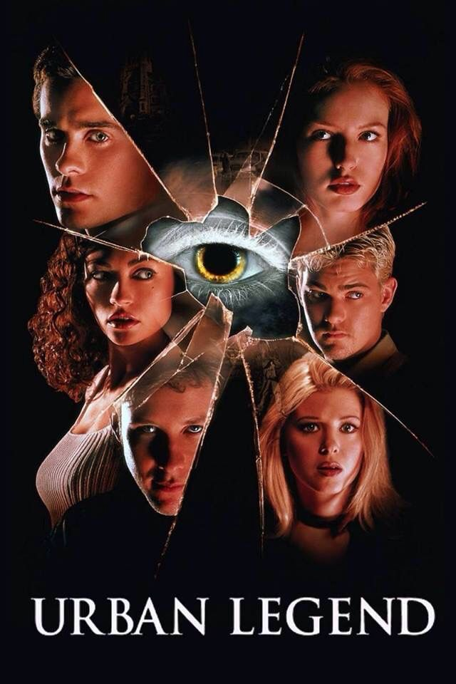 Urban Legend (1998) poster art