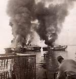 Burning the PT Boats at war's end in