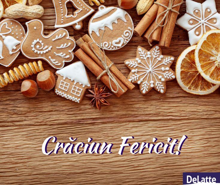 Sărbători luminoase, gustoase și mai ales pline de bucuria celor dragi!  Crăciun Fericit vă dorim! 😍🎂🎄🎅☃🌨🎁