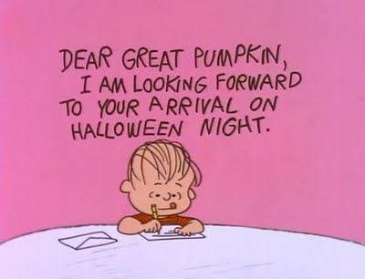 Peanuts Halloween!