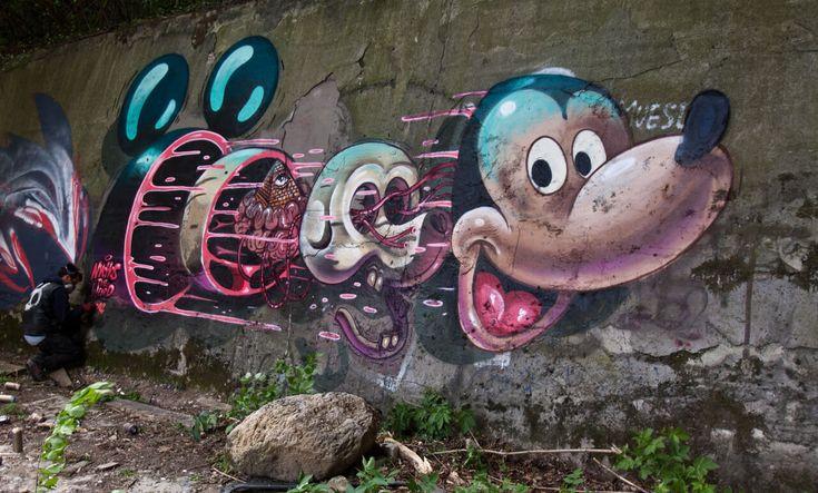 Diseccionando el arte urbano de Nychos