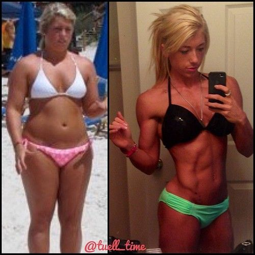 Motivation, determination, across the nation.. lovely fit ladies