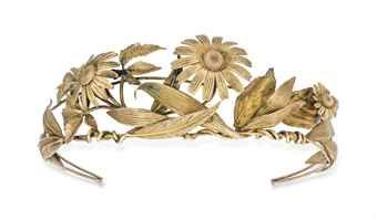 A 20TH CENTURY GILT DIADEM, BY HERMES  | Jewelry, tiara | Christie's