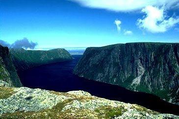 Western Brook Gorge - Cow Head, Newfoundland, Canada