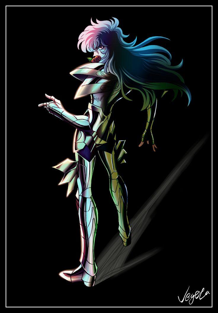Afrodita de Piscis. Caballero Dorado. Saint Seiya.