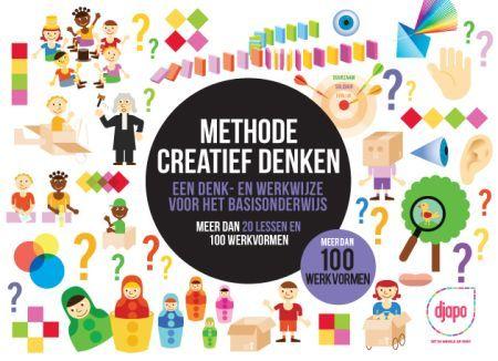 Creatief denken is op andere ideeën komen dan die je gewoonlijk zou bedenken. Je wijkt af van de bewandelde paden in je hersenen en ontdekt nieuwe verbanden of een context die je daarvoor nog niet had gezien. Je doorbreekt denkpatronen en creëert nieuwe verbindingen. Djapo ontwikkelde de Methode Creatief denken. Het boek geeft leerkrachten basisonderwijs een werkkoffer met denkinstrumenten om anders te gaan denken.