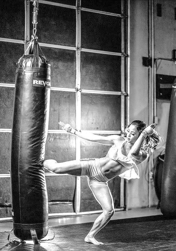 Black Swan • Martial arts workout, Martial arts
