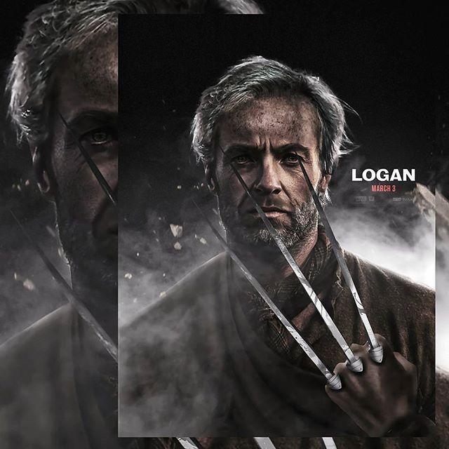 Re visited my old man Logan piece to fit the tone of the official poster more . . . . . . . . . . . . . . . . . #wolverine #hughjackman #oldmanlogan #logan #xmen #marvel #fox #marvelcomics #comics #superhero #mutant #admantium #weaponx #wolverine3 #old #throwback #digitalart #fanart #deviantart #photoshop #adobe #adobephotoshop #art #blade #photomanipulation #hype #foxstudios #comicbook #deathofwolverine #deadpool