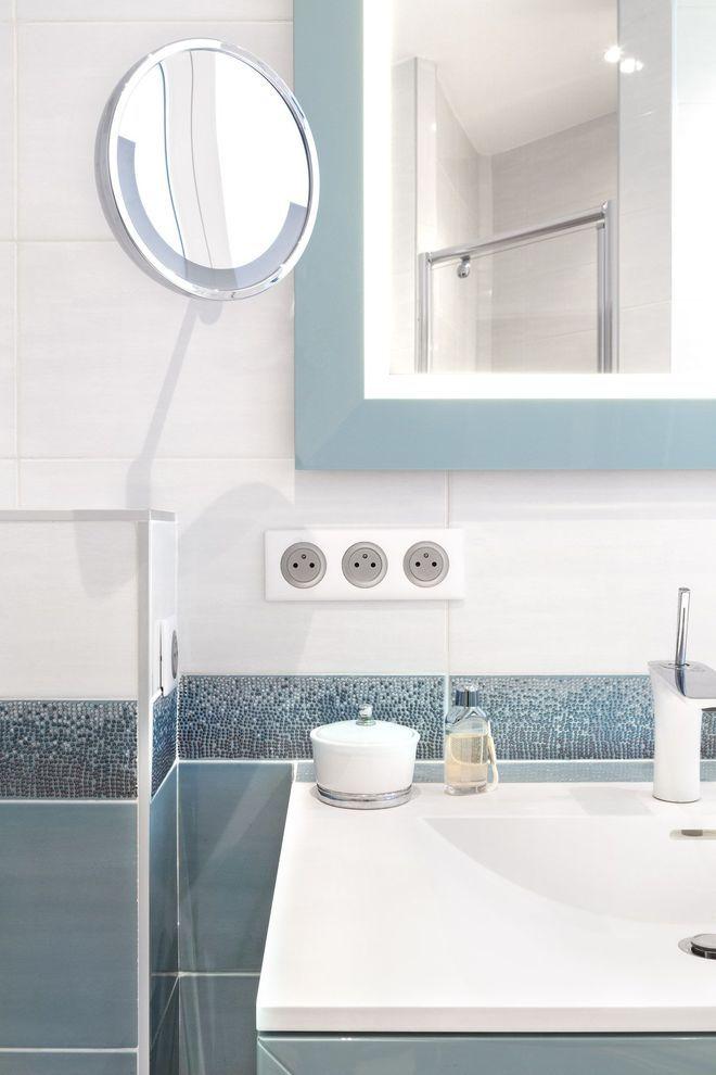 carrelage pour salle de bains original credence salle. Black Bedroom Furniture Sets. Home Design Ideas