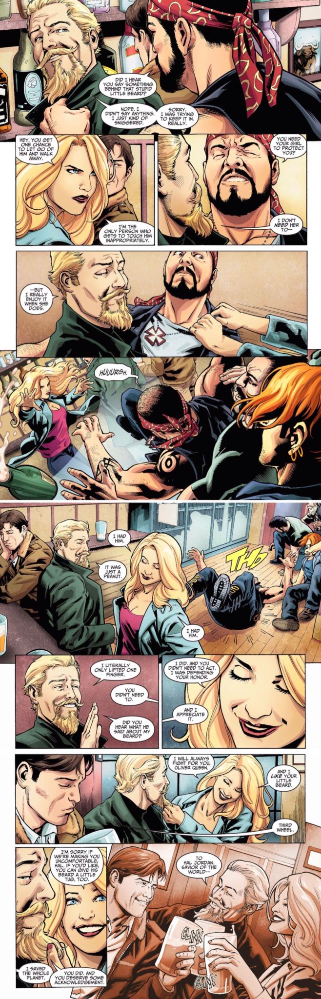 GREEN ARROW AND BLACK CANARY • INJUSTICE: GODS AMONG US: YEAR TWO: CHAPTER ONE