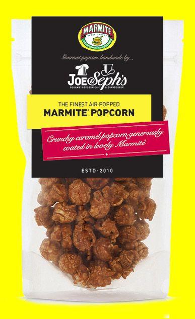 Marmite Popcorn Popcorn | Joe & Seph's