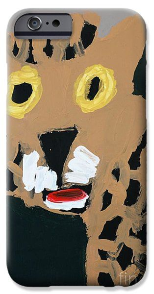 Patrick Francis IPhone 6s Case featuring the painting Jaguar 2014 by Patrick Francis