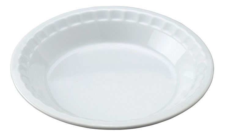 HIC 10.5 Pie Plate, White -- Huge discounts available now! : Baking pans