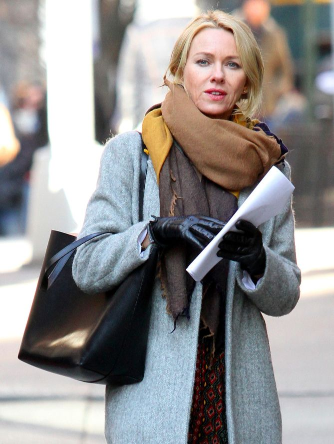 GYPSY VIBES On Monday, Naomi Watts is spotted in N.Y.C., where the actress is filming Gypsy. Star Tracks: Tuesday, Feb. 7, 2017