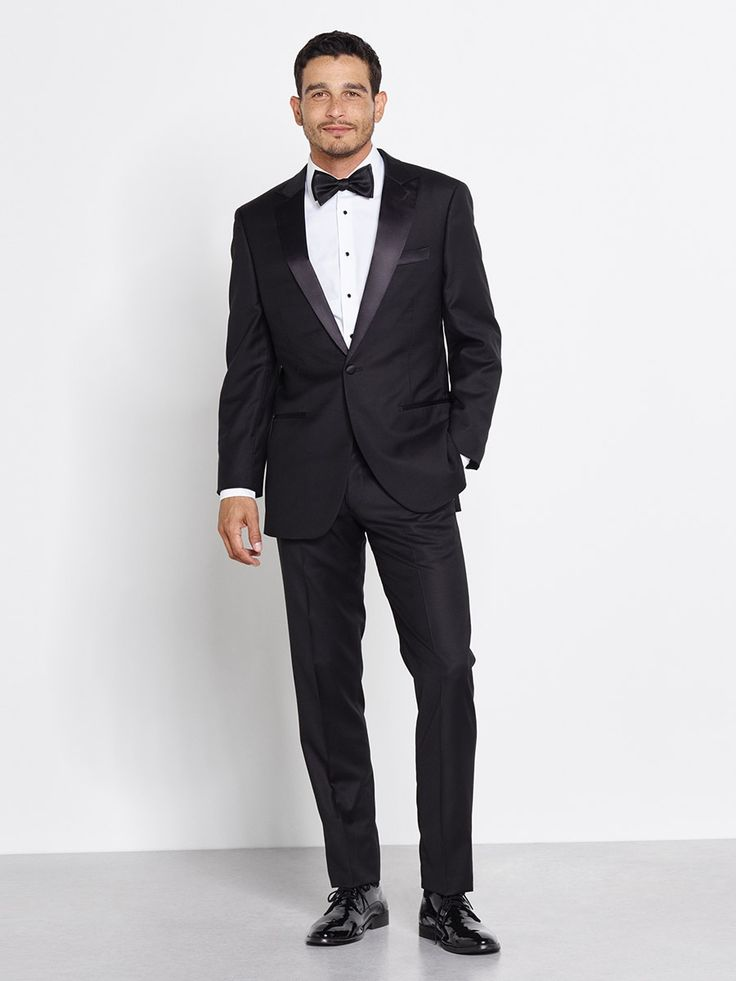 Father of the Bride: Peaked Lapel Tuxedos and Suits | The Black Tux