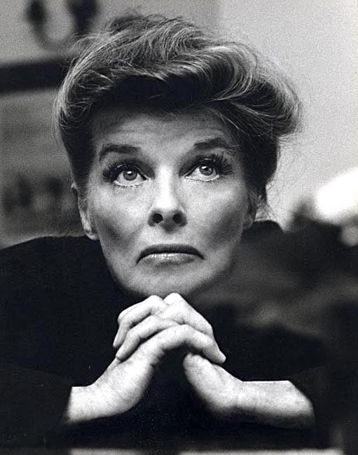 "Katharine Hepburn  Late 60's, had to be around the time she made ""Guess Whose Coming to Dinner"", love this pic of her."