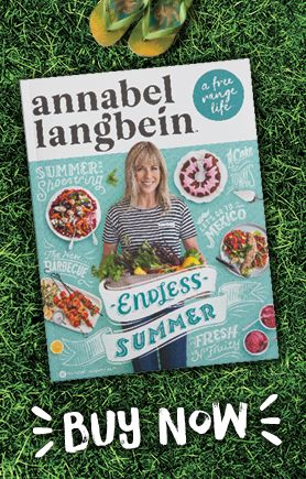 My new summer annual – now available from my online shop www.annabel-langbein.com. We deliver anywhere in the world!