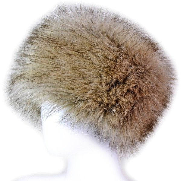 Futrzane Faux Fur Cossak Russian Style Hat for Ladies Winter Hat for... ($24) ❤ liked on Polyvore featuring accessories, hats, fake fur hats and faux fur hat
