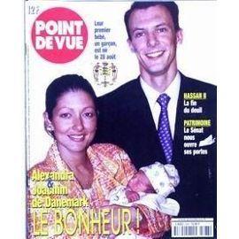 Point De Vue N° 2668 Du 08/09/1999 - Hassan Ii - La Fin Du Deuil - Patrimoine - Le Senat Nous Ouvre Se Portes - Alexandra Et Joachim De Danemark.