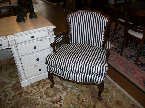 Wonderful Black And White Side Chair | Designed For Change Augusta, Georgia | Consignment  Furniture Augusta